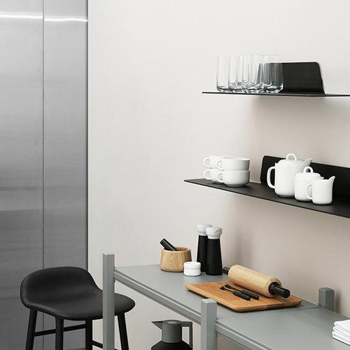 Normann Copenhagen Jet shelf, 80 cm, black