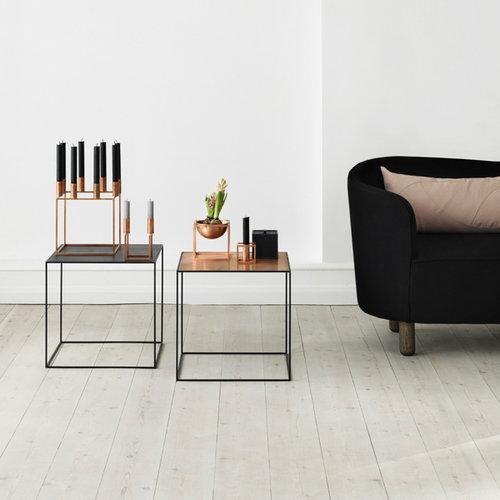 By Lassen Line candleholder, black