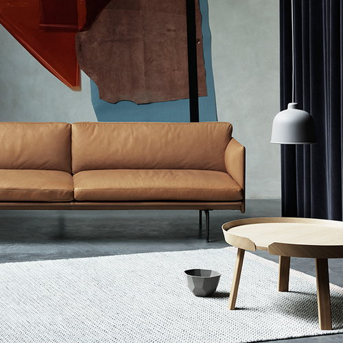 Muuto Around table large, ash