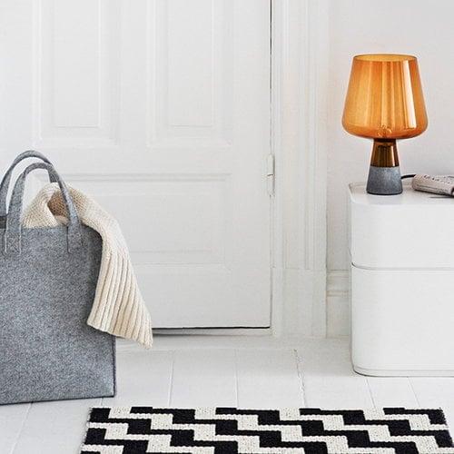 Iittala Meno home bag small, grey felt