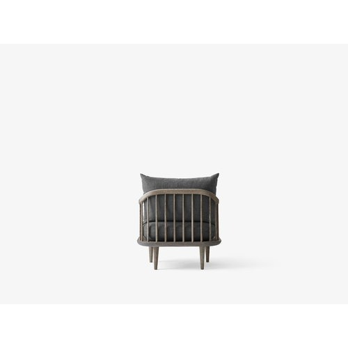 &Tradition  Fly SC10 lounge chair, smoked oak, Hot Madison 093