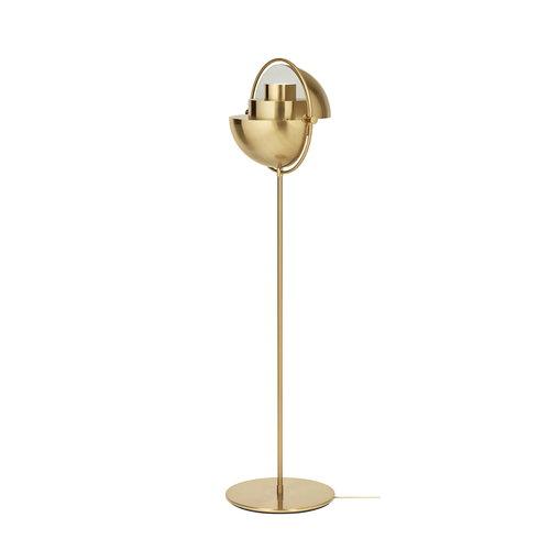 Gubi Multi-Lite floor lamp, brass | Finnish Design Shop