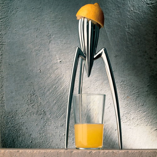 Alessi Juicy Salif citrus squeezer, aluminium