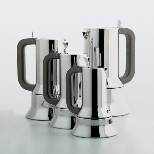 Alessi Espressopannu 9090, 6 kuppia