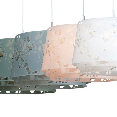 Louis Poulsen Collage 450 pendant, matt white