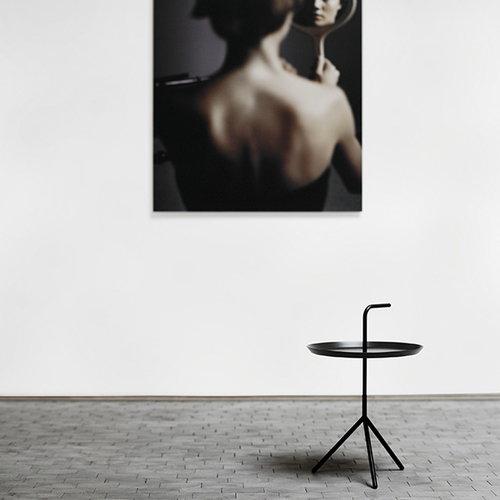 Hay DLM table, black