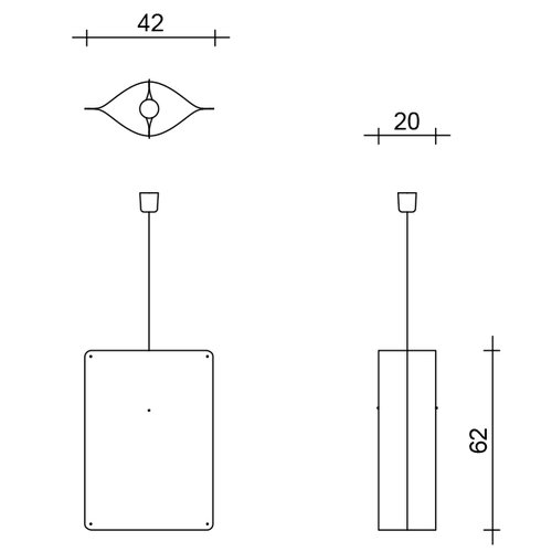 Finom Tall pendant