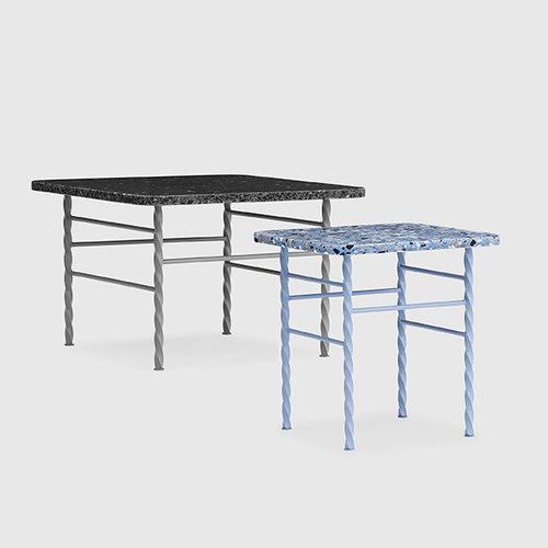 Normann Copenhagen Terra table, small, blue