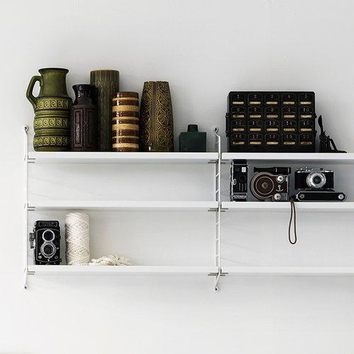 String String Pocket shelf, white