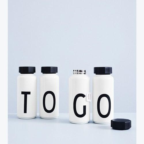 Design Letters Arne Jacobsen termospullo, A-Z