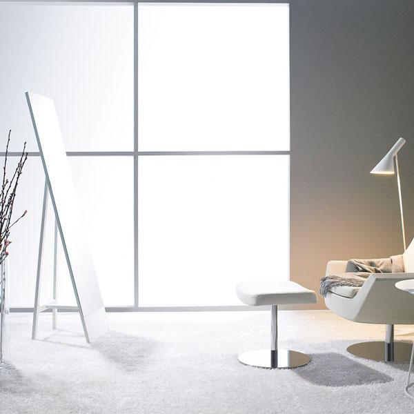 Swedese Mira mirror, white Finnish Design Shop