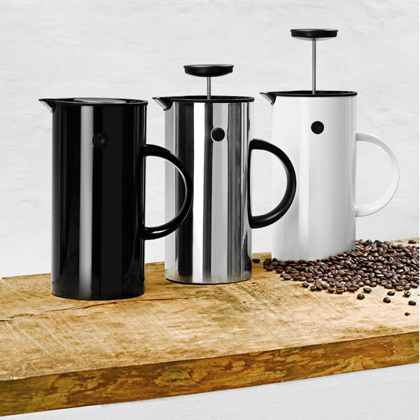 Stelton EM Press coffee maker, black Finnish Design Shop