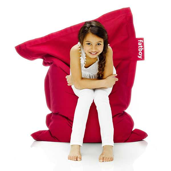 junior stonewashed bean bag taupe - Fatboy Bean Bag