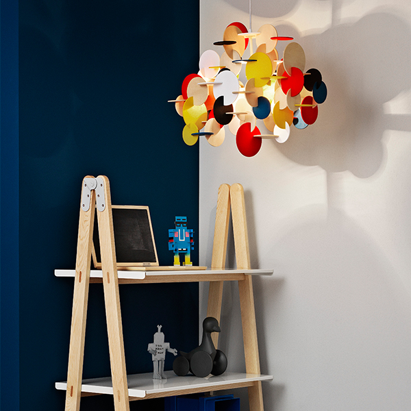 normann copenhagen bau lamp large multi colour finnish. Black Bedroom Furniture Sets. Home Design Ideas