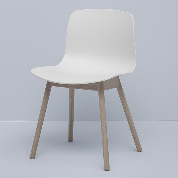 Hay sedia about a chair aac12 rovere saponato bianco for Sedia hay