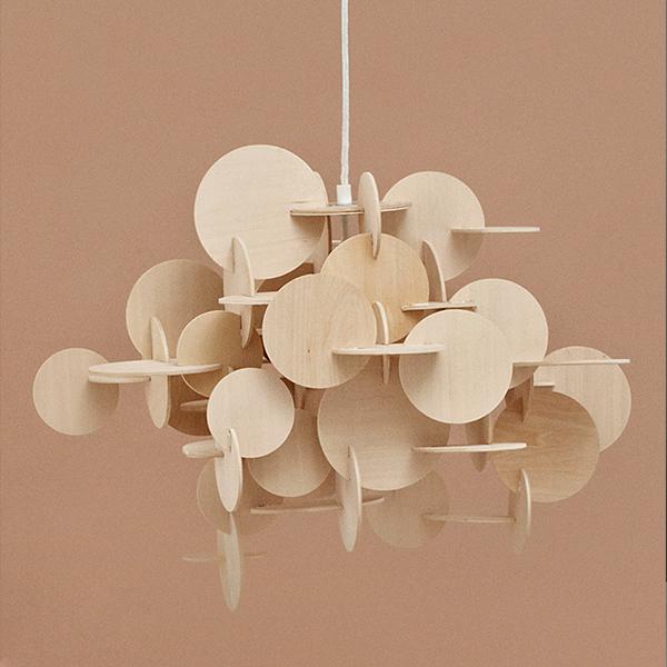 normann copenhagen bau lamp large natural finnish. Black Bedroom Furniture Sets. Home Design Ideas