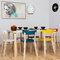 Artek Aalto chair 69, turquoise