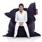 Fatboy Original bean bag, dark purple