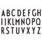 Design Letters Arne Jacobsen cup, white A-Z