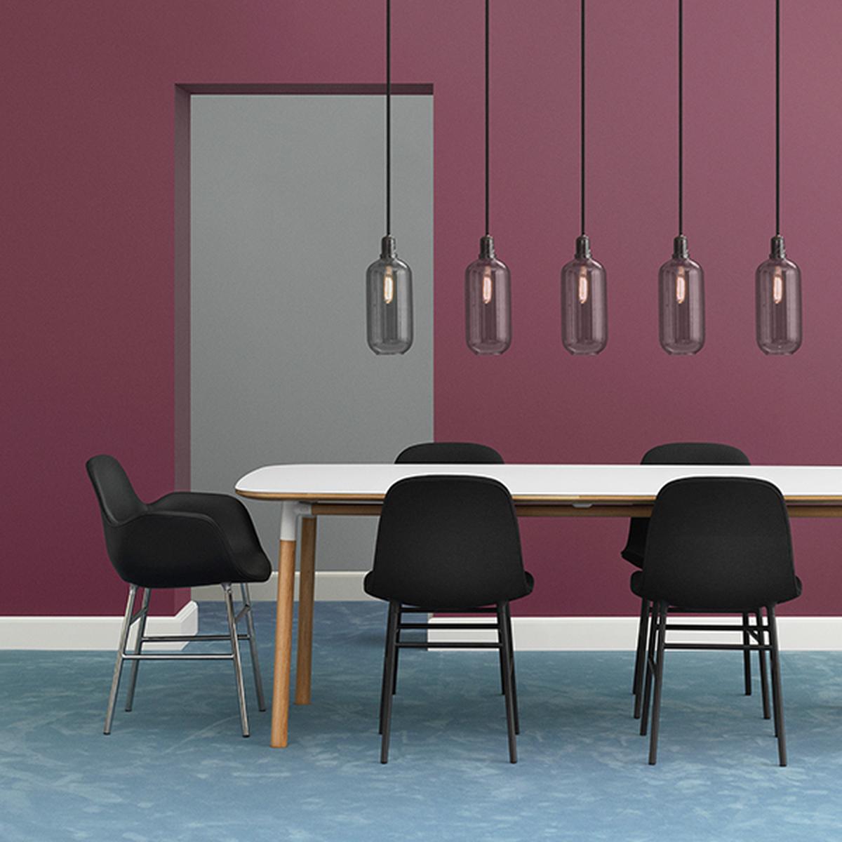 Normann copenhagen tavolo form 200 x 95 cm bianco rovere for Normann copenhagen shop