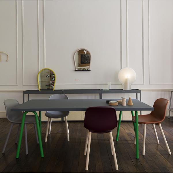 hay neu13 chair bordeaux matt lacquered ash finnish design shop. Black Bedroom Furniture Sets. Home Design Ideas