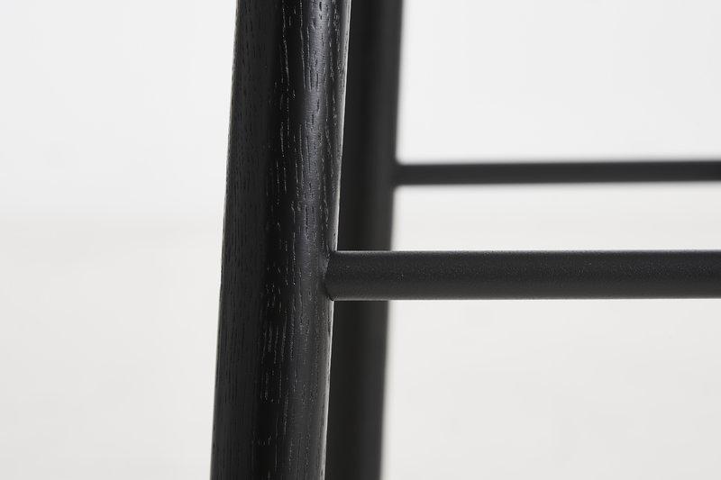 Woud sgabello da bar mono cm nero finnish design shop