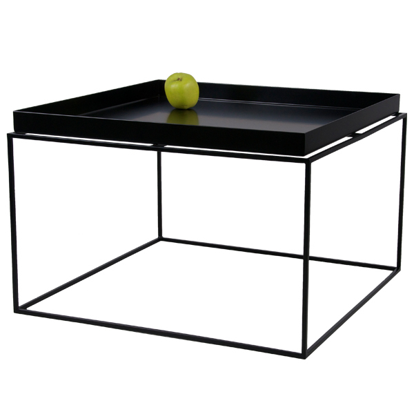 hay tray table large black finnish design shop. Black Bedroom Furniture Sets. Home Design Ideas
