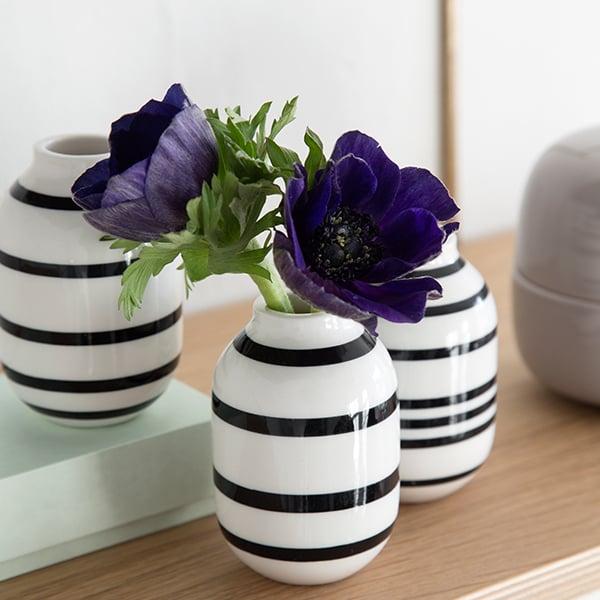 Khler Omaggio Vase Medium Silver Finnish Design Shop