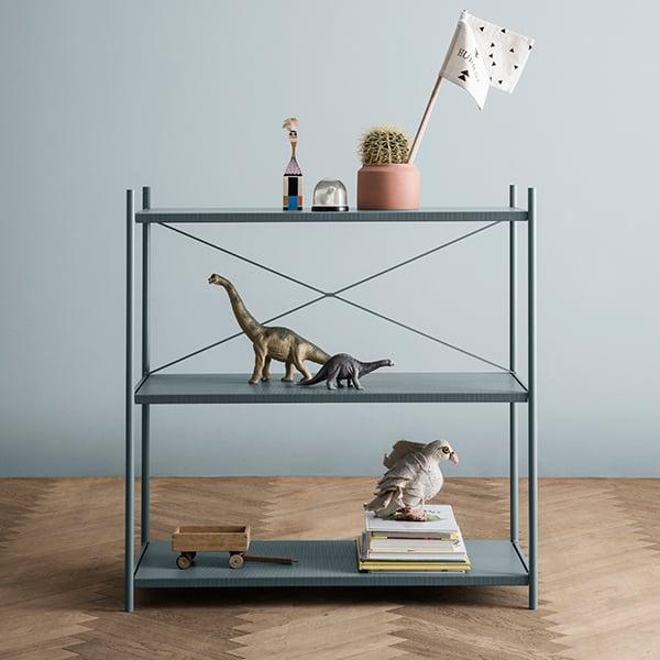 Merveilleux Ferm Living Punctual Shelf, 2 X 3, Grey