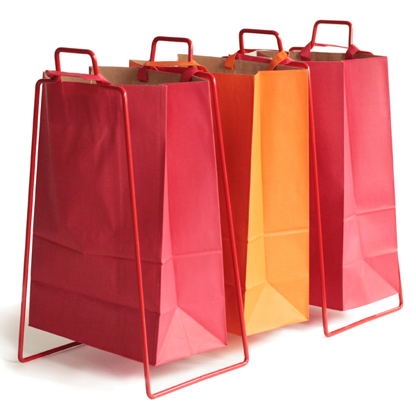 Everyday Design Helsinki Paper Bag Holder Red