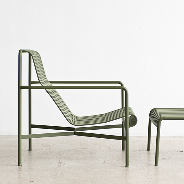 Hay Palissade Lounge Chair High Olive Finnish Design Shop