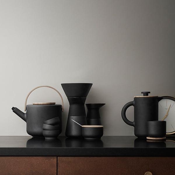 Theo Teapot Sand Stelton