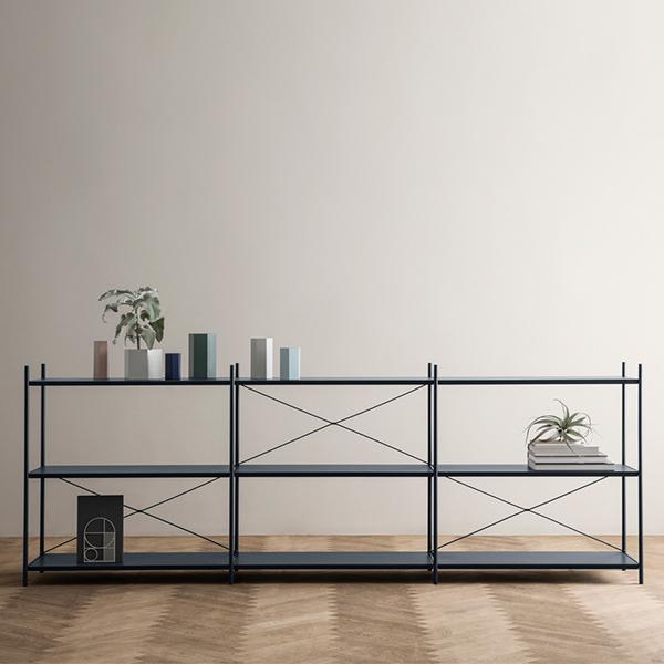 Superieur Ferm Living Punctual Shelf, 2 X 3, Grey