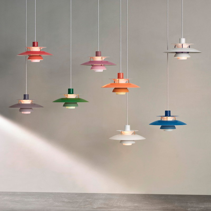 Louis Poulsen PH 5 Mini pendant, grey | Finnish Design Shop