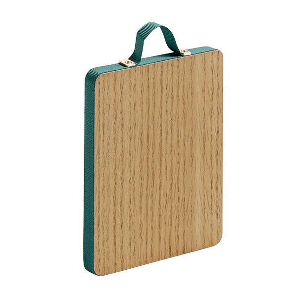 Hay specchio ruban rectangular s verde finnish design shop for Specchio hay