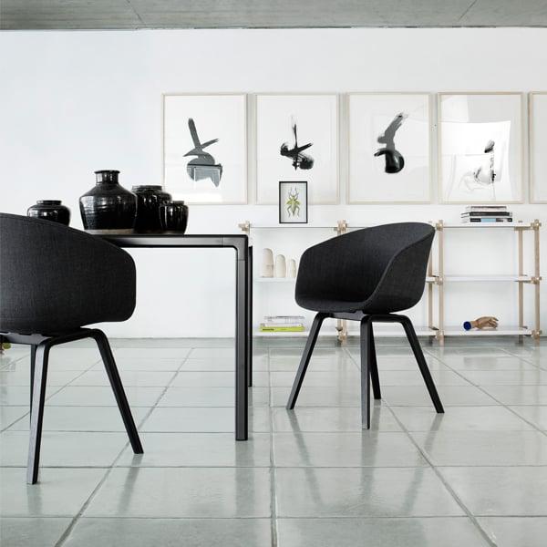 Hay About A Chair Aac22 White Matt Lacquered Oak Finnish Design