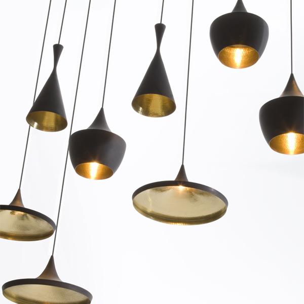 Tom Dixon Beat Light Fat Black Finnish Design Shop