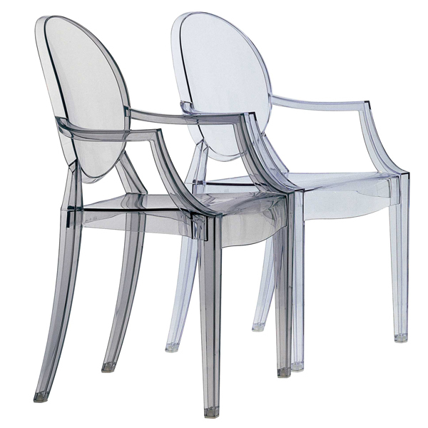 Kartell Louis Ghost chair, clear | Finnish Design Shop
