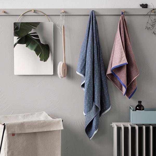 Ferm Living Sento Bath Towel Rose Finnish Design Shop Unique Bathroom Towel Design