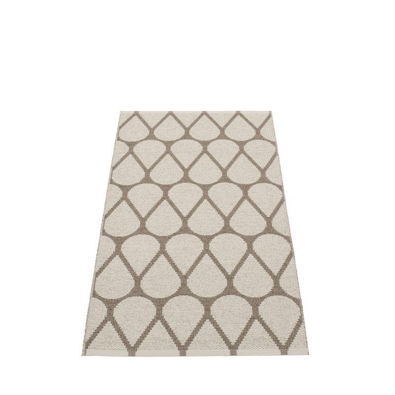 Pappelina otis rug 70 x 140 cm mud linen finnish for Decor 140 rugs