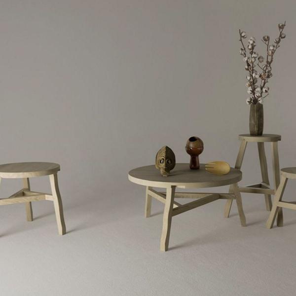 Tom Dixon Offcut Coffee Table Oak Finnish Design Shop - Tom dixon coffee table