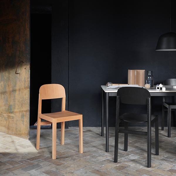 Muuto workshop chair oak finnish design shop for Chair design workshop