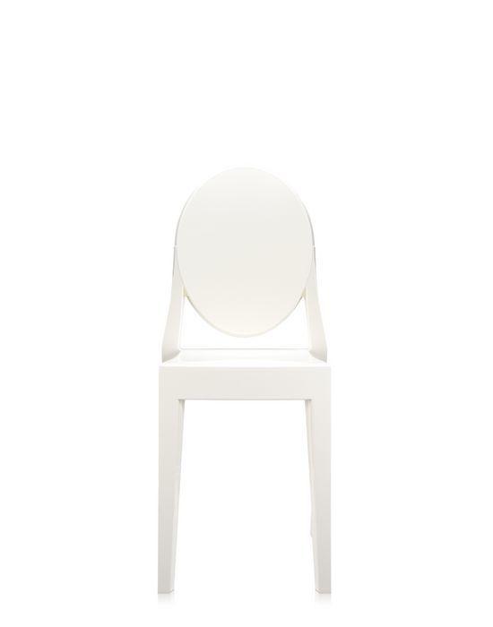 Kartell sedia victoria ghost bianca finnish design shop - Sedia kartell ghost ...