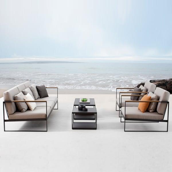 Röshults Garden Easy Sofa, 2 Seater