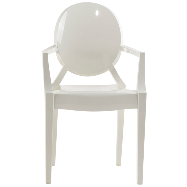 Kartell Louis Ghost chair, white | Finnish Design Shop