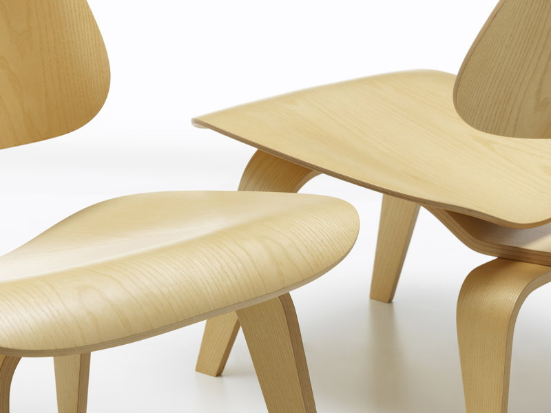 Vitra Plywood Group Lcw Lounge Chair, Bent Plywood Furniture