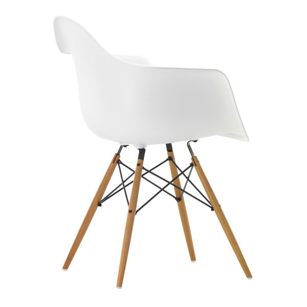 vitra eames daw chair white maple finnish design shop