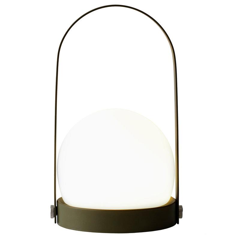 Menu lampada da tavolo carrie led verde oliva finnish design shop for Lampada da tavolo verde