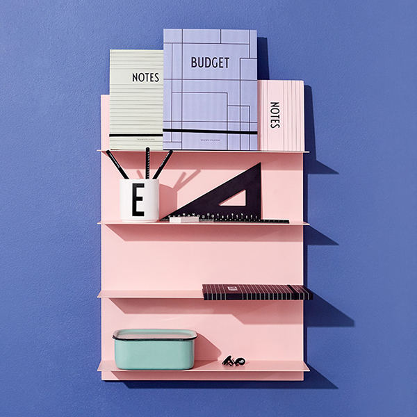 Design Letters Pink paper A2 shelf   Finnish Design Shop