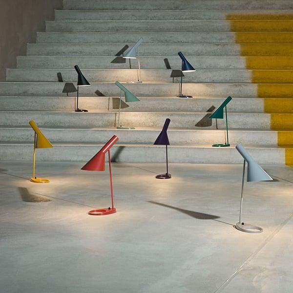 Louis Poulsen Aj Table Lamp Dark Grey Finnish Design Shop
